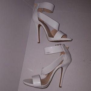 Wild Diva Heel White Heels